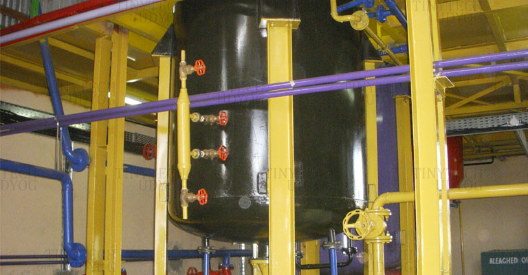 Edible Oil Refinery - Neutralizer, Bleacher, Deodourizer - Oil Refinery